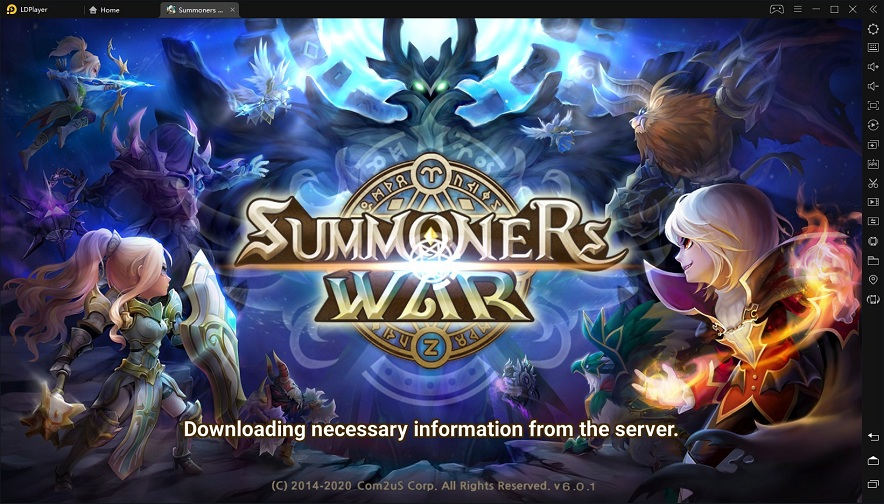 Play Summoners War on PC with LDplayer - Free Android Emulator