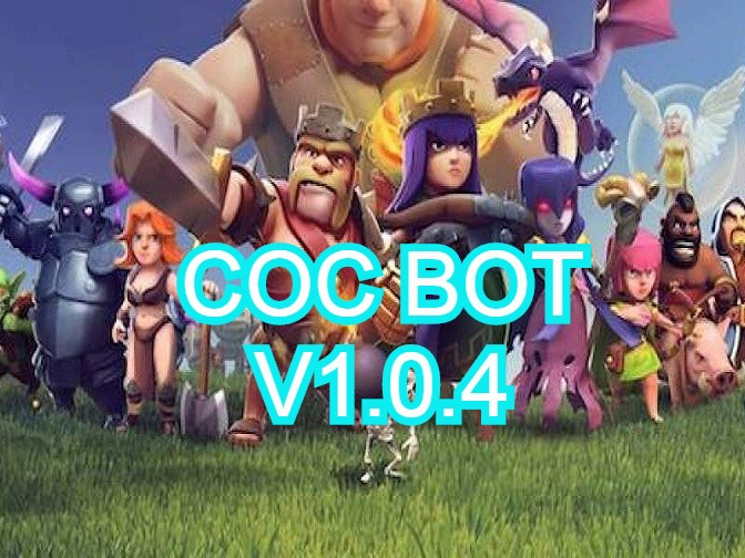 Coc Bot V1.0.4 supported town hall from 2 to 11 and searching dead base!