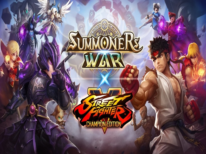 Summoners War will host a crossover with Street Fighter V on Aug 31 this year