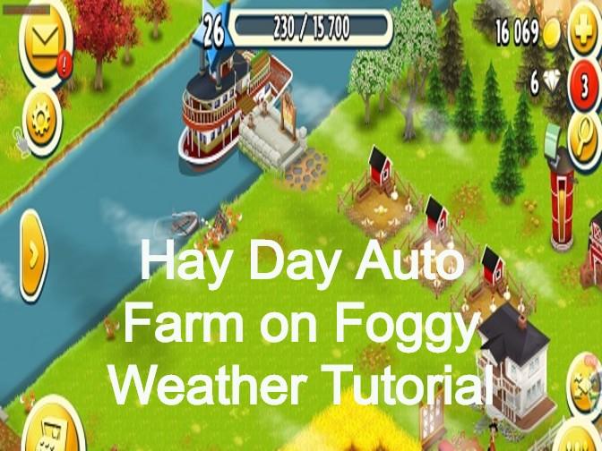 Hay Day Auto Farm on Foggy Weather Tutorial