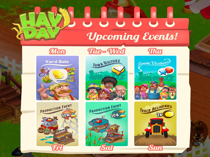 Hay Day New Week Event Starts. Are you ready?