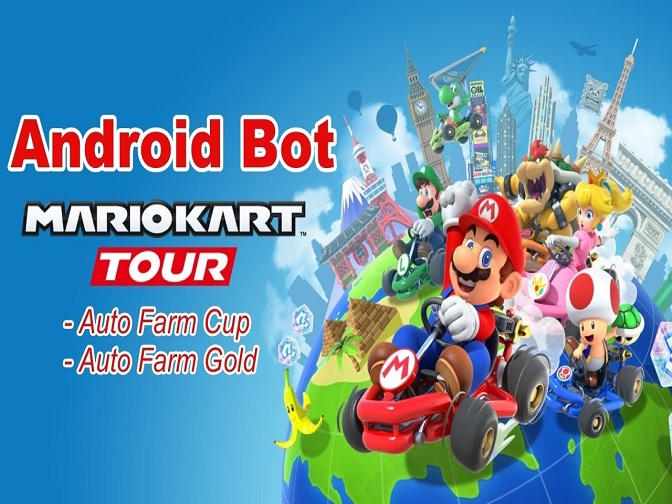 Game Bots Rolls out Mario Kart Tour Auto Farming Bot for Android No Root!