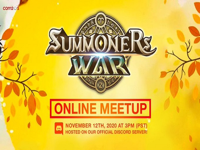 Summoners War Discord Online Meetup will Take Place in November 12th