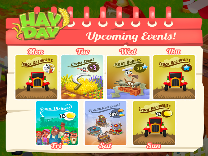 Hay Day Weekly Event Kicks off