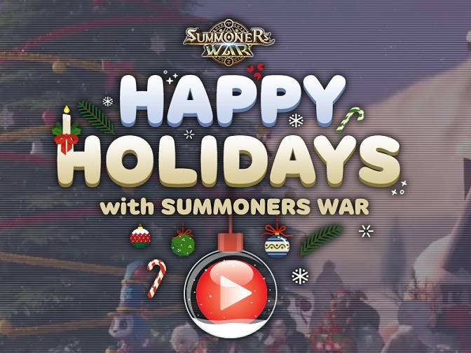 Summoners War Has Rolled out Holiday Event and Paper Toys for Christmas (Attached Template Download Link)