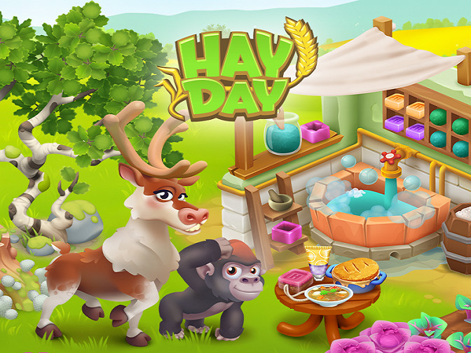 Hay Day 2021 Spring Update Introduces New Crops, Production Machines, Sanctuary Animals and More