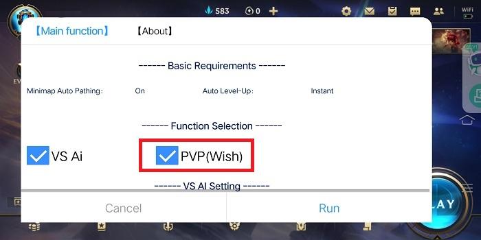 PVP mode on LOL Wild Rift Bot.jpg