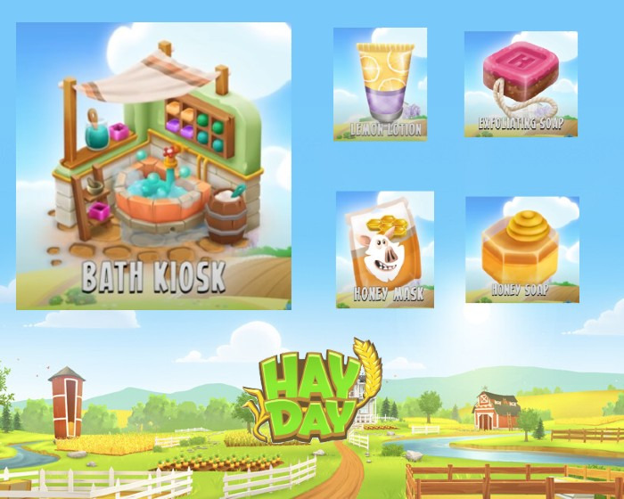 Hay Day 2021 Spring Update - Bath Kiosk and Its New Products.jpg