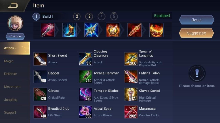 How to switch custom equipment automatically in Arena of Valor 2